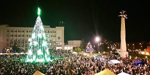 Kalėdos keliauja į Marijampolę