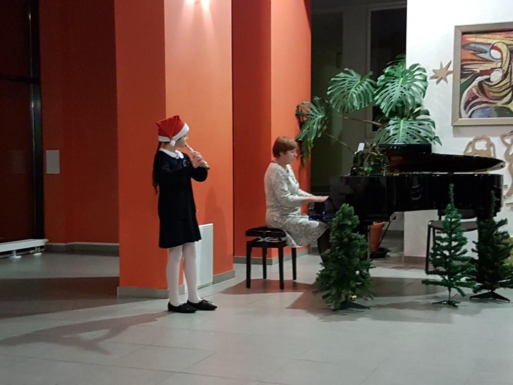 Kalėdinis koncertas su mokytoja Nadiežda Liberis