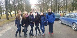 """Gimnazijos moksleiviai tradicinėje Marijampolės kolegijos šventėje """" Informatikų diena 2017"""""""