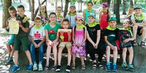 """Dieninė  vaikų vasaros poilsio stovykla """"SAULUTĖ"""""""