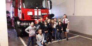 Ekskursija pas gaisrininkus