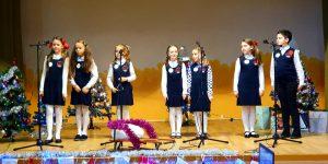 Kalėdinių dainų popietė Želsvos pagrindinėje mokykloje