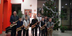 Saksofonininkų I pusmečio atsiskaitymas-koncertas