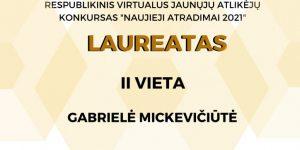 """Respublikinis virtualus jaunųjų atlikėjų konkursas """"NAUJIEJI ATRADIMAI"""""""