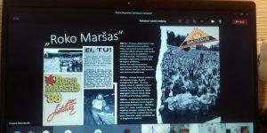 IG mokiniai domėjosi roko muzikos istorija